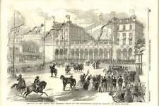 1855 royal et impérial Train à Strasbourg Railway Station Paris