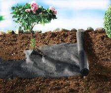 2x Gartenvlies Unkrautschutz | Pflanzvlies Bodengewebe 1,2m x 3m zuschneidbar