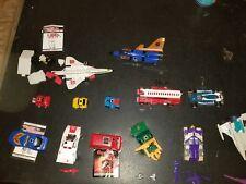 Lot of 13 G1 Transformers Headmaster Blitzwing, Hoist. Ironhide