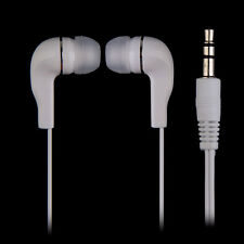Universal 3.5mm Stereo In-ear Headset Earphone Earbud For iPhone Samsung MP3 PC