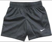 Nike Little Boys Size 4 Mesh Anthracite Shorts Short Pants Summer Soccer