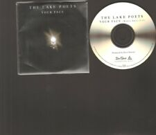 LAKE POETS Your Face CD Single 1 track PROMO 2015