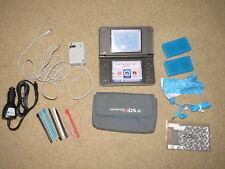 GREAT Nintendo DSi XL + wall & car chargers, case, headphones, case, 8 stylus, +