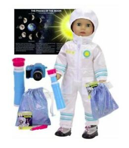 """Smithsonian Astronaut Shoot for Moon Set for American Girl 18"""" Doll Luciana 🐞"""