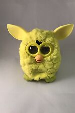 Hasbro 2012 FURBY yellow Talking Interactive Toy Rare Tested And Working