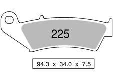 Paire de plaquettes de frein avant fritté CANNONDALE 400 MX 400 2000  225 TROFEO