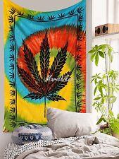 Cannabis Decorative Wall Hanging Marijuana Tapestry Gypsy Decor Hempest Leaf