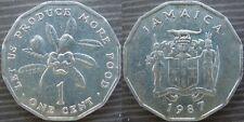 JAMAICA # 1 cent 1987 - F.A.O.-