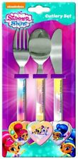 Shimmer And Shine Cutlery Set Girls Stainless Steel Knife Fork Spoon Set