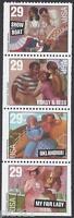 Sc # 2767-2770 ~ 29 cent Broadway Musicals Issue, Booklet Pane (bg12)