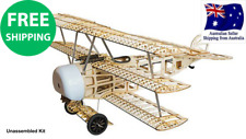 Fokker Dr.I 770mm Laser Cut Balsa Model Kit WW1 fighter aircraft vintage RC