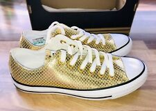 Converse Lederchucks Ct As Ox 555967c Gold 38