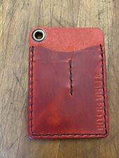 Hitch and Timber Flat Jack Leather Wallet EDC, Minimalist Wallet, Never Used