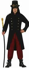 Men's Adult Dracula Vampire Gothic Halloween Horror Fancy Dress Costume