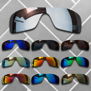 Polarized Replacement lenses for-Oakley Batwolf Anti-Scratch Multiple Choices US