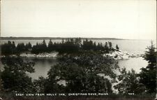 Christmas Cove ME From Holly Inn c1950s Real Photo Postcard