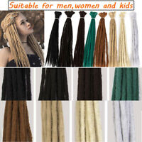 Dreadlocks Extensions Synthetic Dreads Reggae Hair Hip-Hop Style Fashion Crochet