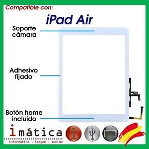 PANTALLA TACTIL IPAD 5 AIR SCREEN DIGITALIZADOR + BOTON HOME + IC CHIP BLANCA