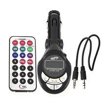 Car Mp3 Player Wireless Fm Transmitter Modulator Usb Sd Cd Mmc Remote Xrc Nice