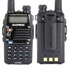 1 Pair 2 piece Baofeng UV5RA Walkie Talkie HAM Flashlight Adventure Interphone