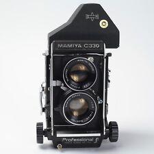 Excellent + near mint Mamiya C330 F Professional, Prism Finder, TLR Film Camera