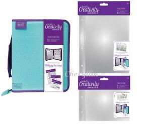 Docrafts Creativity Essentials Stamp Storage Folder / Inserts/ Bundles - CHOOSE