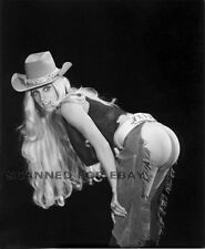 Model nude girl print leggy busty art woman female picture photo COWGIRL-booty