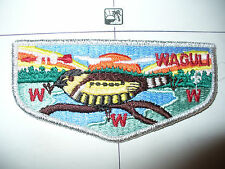 OA Waguli Lodge 318 S-9, 1980s Restricted Flap,SMY, Northwest Georgia Council,GA