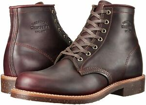 Chippewa U.S. Made Men's 1901M25 Engineer/Service Boot, Aldrich Cordovan (8D)