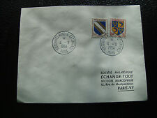 FRANCE - enveloppe 4/9/1954 (cy53) french