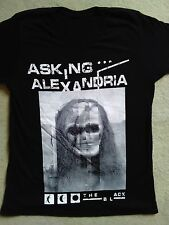 Asking alexandria 2016 European and UK tour shirt.  Leeds & Reading festival Inc