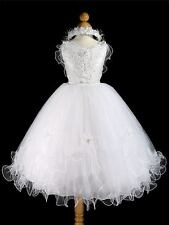 TINKERBELLE FAIRY BRIDESMAID/FLOWERGIRL DRESS 7-8 YEARS.