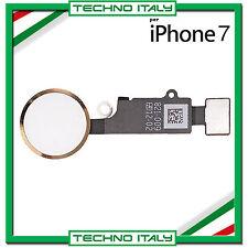 IPHONE 7 7G GOLD ORO FLAT FLEX TASTO HOME TOUCH