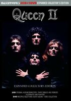 QUEEN / QUEEN II - EXPANDED COLLECTOR'S EDITION - (2CD+1DVD) REMASTERS