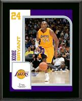 Kobe Bryant Los Angeles Lakers 10.5'' x 13'' Sublimated Player Plaque - Fanatics