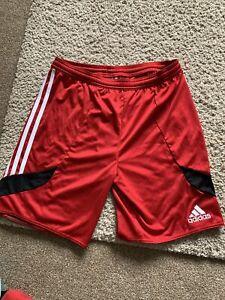 Adidas Shorts XL Youth Red