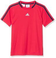 adidas Performance Boys Club Tee Red RRP £24 BNWT AX9624
