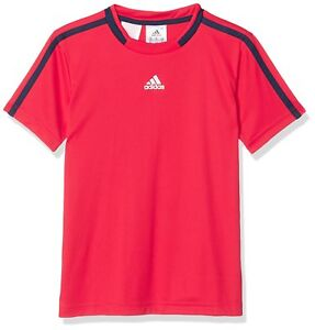 adidas Performance Boys Club Tee Red RRP £24 BNWT AX9624