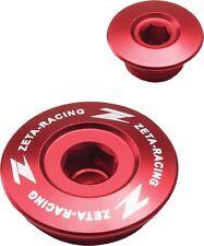 ZETA ZE89-1310 Red Engine Plugs Suzuki RMZ250 07-17, RMZ450 05-17, RMX450Z 10-16