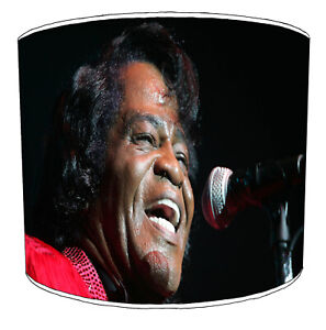 James Brown Godfather of Soul Lampshades Ideal To Match Bedding Duvet Curtains