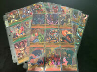 MARVEL METAL 1995 COMPLETE BASE SET 138 CARDS M/NM W/ NEW ULTRA PRO PAGES