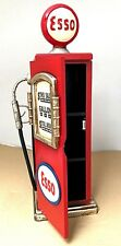 Retro Petrol Pump Esso Cabinet Storage CD DVD  Art Deco Shabby Chic