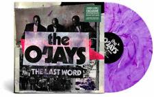 Autographed the O'jays Last Word Purple Splatter record lp Vinyl Signed