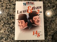 Laurel And Hardy Dvd! TV Classics! 2-Dvd Set! 14 Episodes!