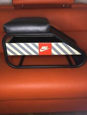 NIKE Fitting STOOL Vintage RARE Display 1980's or 90's Collectible Advertising