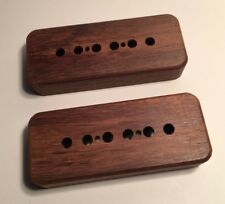 Guilford Indian Rosewood P-90 Pickup Covers - 2 Covers Fits Gibson, Lollar - USA