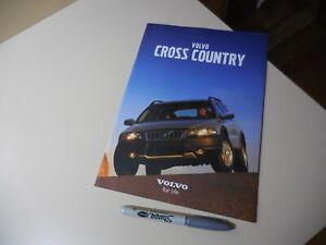 VOLVO CROSS COUNTRY Japanese Brochure 2001/04 5244