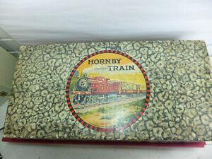 Hornby O gauge 1925 No1 Goods set boxed