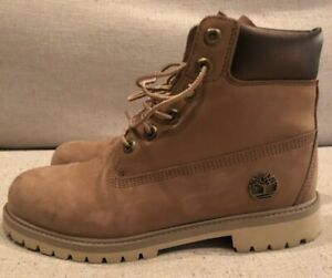 chasquido construcción Detectable  Timberland Boots Brown Shoes for Girls for sale   eBay
