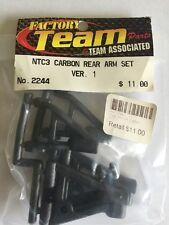 Team Associated NTC3 Carbon Rear Arm Set # 2244